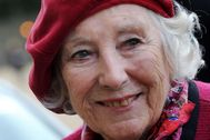 Vera Lynn en el Remembrance day de 2009 en Londres