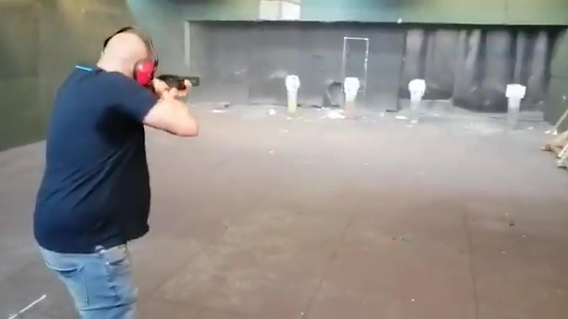 La Abogacía del Estado denunciará el vídeo donde disparan a fotos de Pedro Sánchez, Pablo Iglesias, Fernando Grande-Marlaska y Pablo Echenique