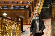 archdc. Madrid, 17 de junio de 2020. Pleno de control al Gobierno en el Congreso de los Diputados. En la imagen: lt;HIT gt;Pablo lt;/HIT gt; lt;HIT gt;Iglesias lt;/HIT gt;.