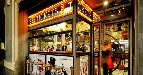 El restaurante Tickets de Barcelona, de Ferran Adrià.