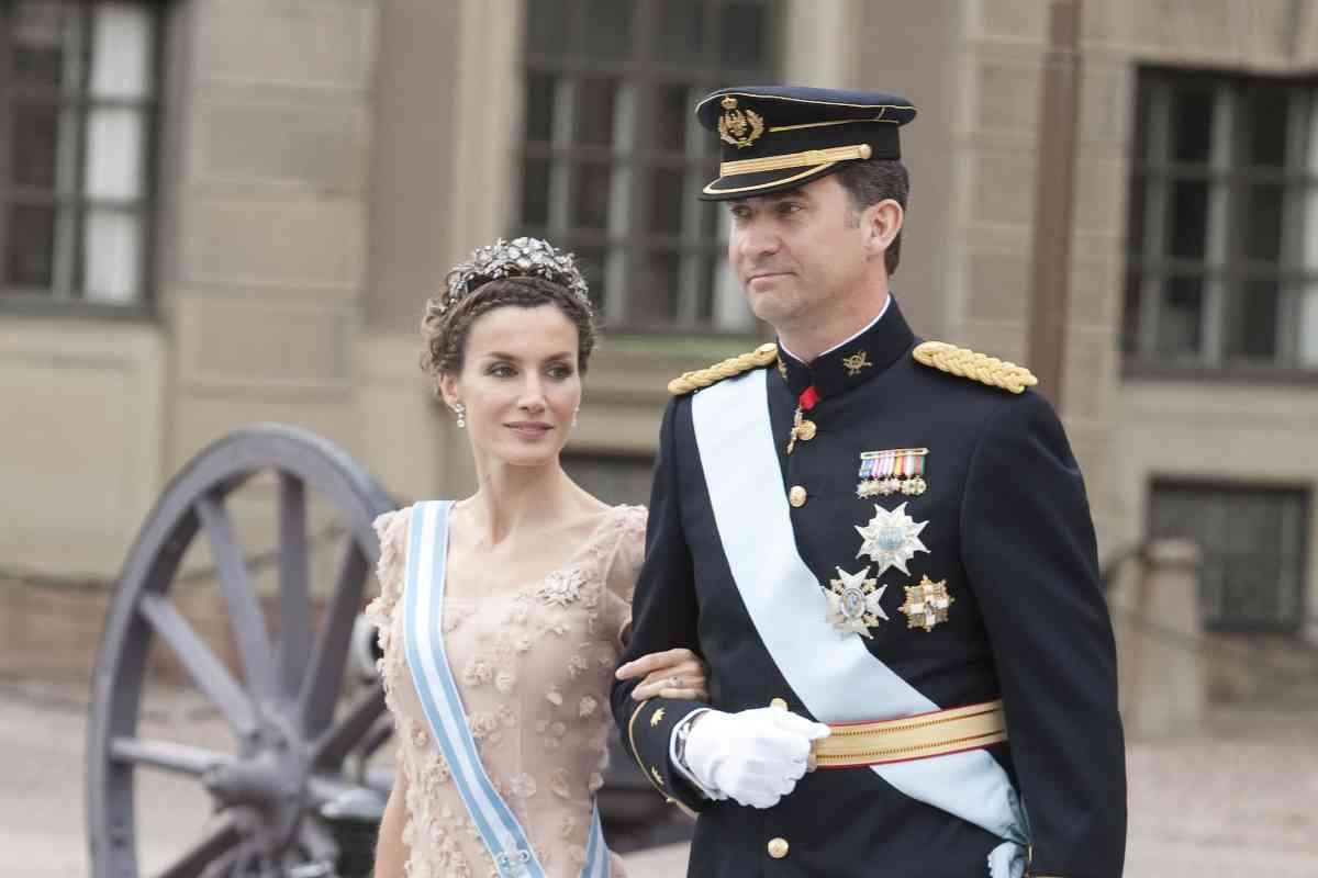 Los entonces Príncipes Felipe y Letizia viajaron a Estocolmo para asistir al enlace.