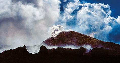 El Etna ha permanecido activo desde que el hombre ocupó Sicilia.