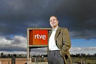 Luis Fernández, en febrero de 2009, cuando era presidente de RTVE.