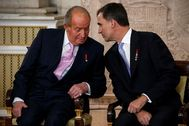 El día 18 de junio de 2014 Don Juan Carlos firmó su abdicación