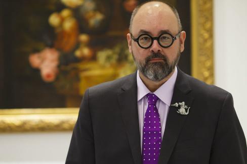 Carlos Ruiz Zafón, en una foto de archivo.
