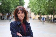 La recién elegida coordinadora de Podemos Andalucía, Martina Velarde.