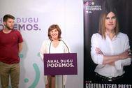 El holgado triunfo de Garrido en las primarias completa el viraje de Podemos Euskadi