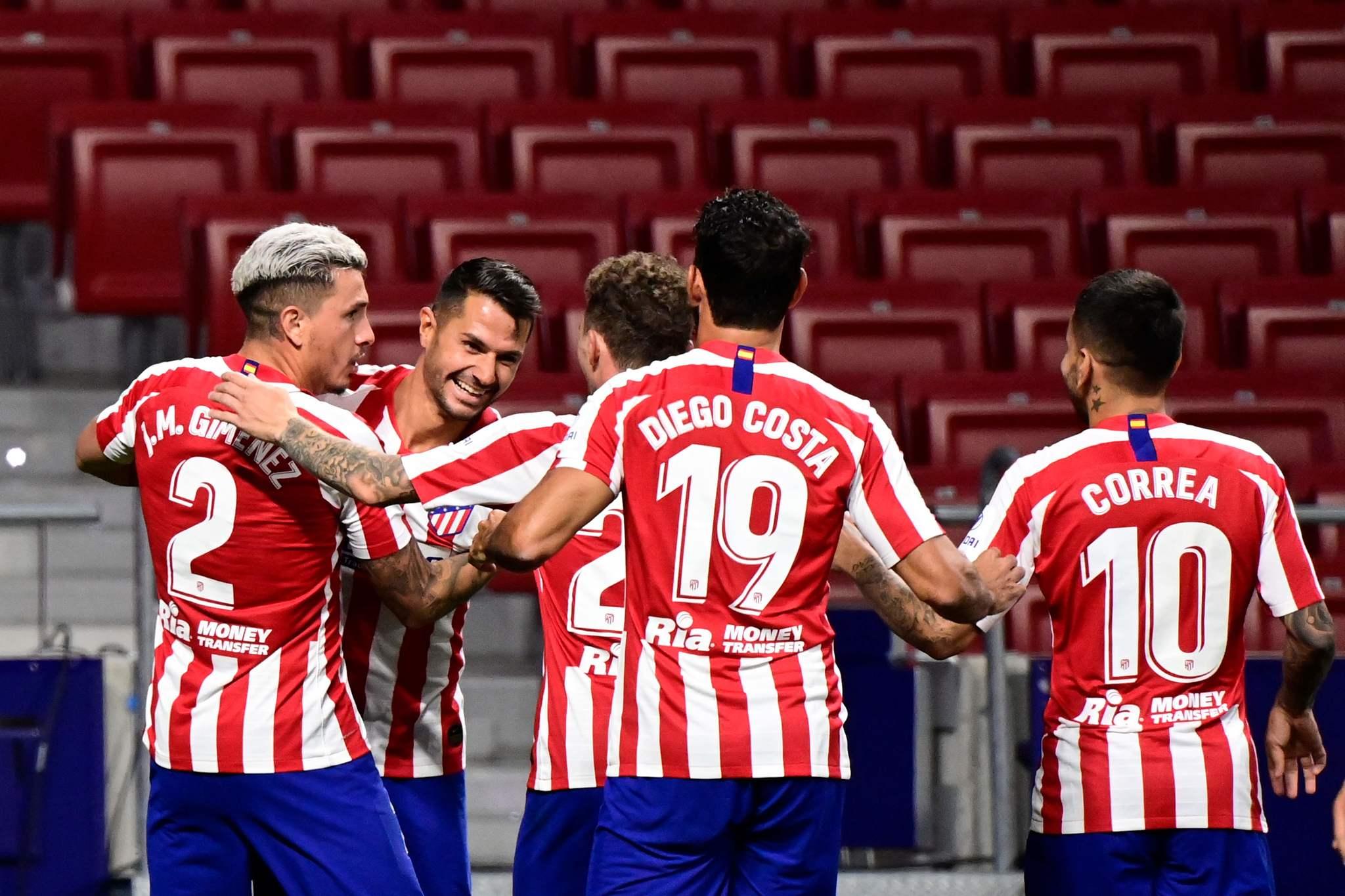 Vitolo y el Atlético asaltan el podio con suspense