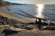 Playa de Carvajal, en Fuengirola.