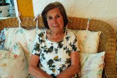 La anciana de 81 años expulsada del autobús en su domicilio de Ambite.