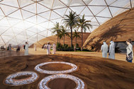 Dubai diseña la primera ciudad extraterrestre del mundo donde vivir como en Marte