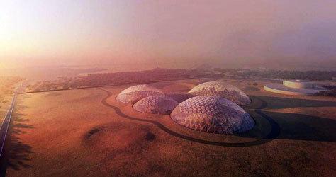 Las domos serán realizadas con impresioras en 3D.