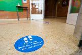 Estudian la opción de hacer aulas mixtas de niños de entre tres y ocho años para mantener la distancia