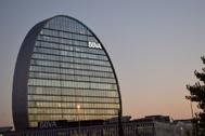 La sede de BBVA en Madrid.