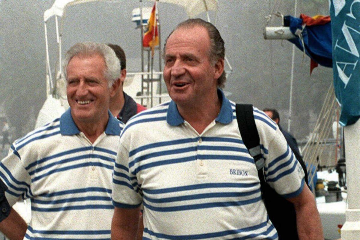 Cusí y Don Juan Carlos en el 99