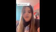 Inma Franco en un vídeo en Tik Tok