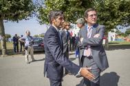 José María Álvarez-Pallete (Telefónica) y Antonio Garamendi (CEOE).