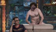 Un hombre desnudo sorprende a Berto en La Resistencia