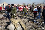 Lugar donde se estrelló el avión el 8 de enero.