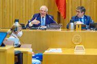 Josep Borrell, alto representante de la UE para la Política Exterior, comparece ante la Comisión para la Reconstrucción del Congreso.