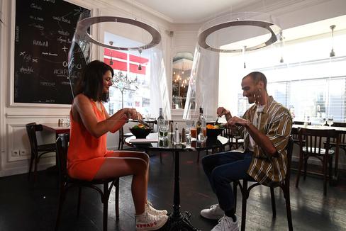 Un restaurante profiláctico en Francia