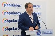El portavoz del PP en la Diputación Provincial de Huelva, José Carlos Duarte.