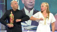Sálvame: Así fue el reencuentro de Belén Esteban y Jorge Javier tras su épica bronca