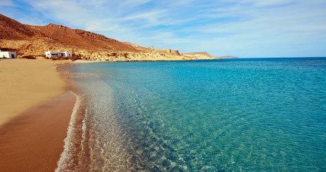 Playa de Cabo de Gata, en Almería.
