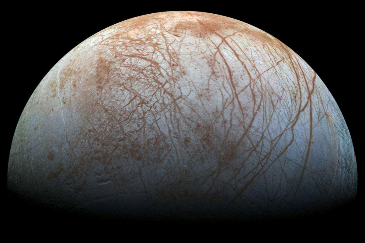Europa, una de las lunas de Júpiter