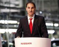 El directivo de Nissan Frank Torres.