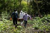 India se derrumba tres meses después de su bloqueo por el coronavirus