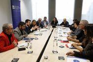 Reunión del Govern y entidades del tercer sector en febrero.