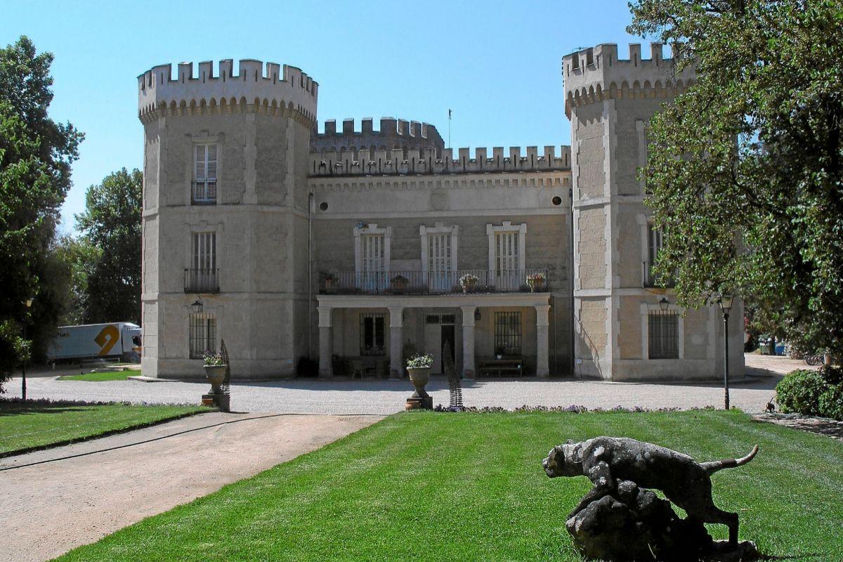 El palacio que ha tenido que abandonar Esther