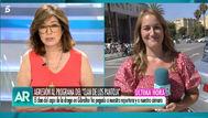 Una reportera de El programa de Ana Rosa y su cámara sufren una agresión del clan de Los Pantoja