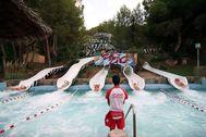 Las instalaciones de Aqualandia en Benidorm.