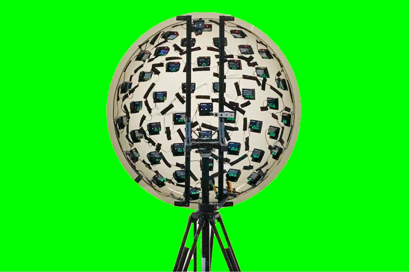 Compuesto por 46 cámaras, este es el último invento de Google para grabar vídeos.