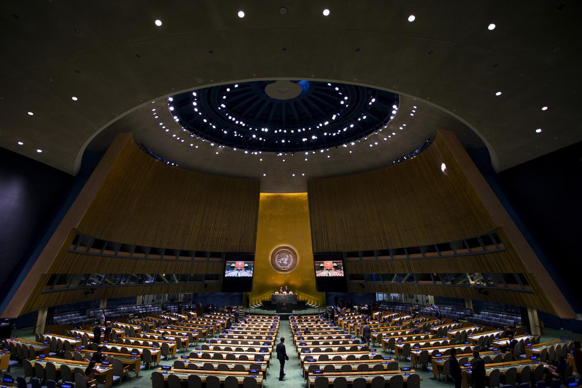 La Asamblea General en su reunión anual.