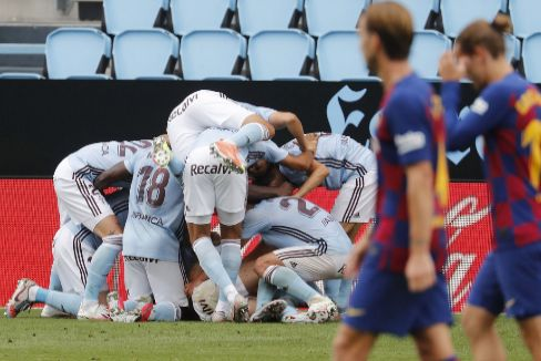Aspas derrumba al Barça en Balaídos