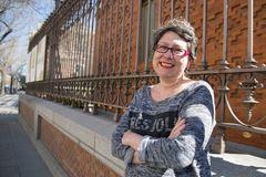 GRAF9502. MADRID.- Fotografía de archivo, tomada el 06/03/2019, de la editora lt;HIT gt;Belén lt;/HIT gt; lt;HIT gt;Bermejo lt;/HIT gt; (Madrid, 1969), que ha fallecido en Madrid a causa del cáncer que padecía desde hace tres años. Archivo/Ana Márquez