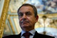 El ex presidente español Rodríguez Zapatero.