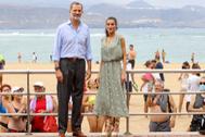 Los Reyes, en la playa de la Canteras, de Las Palmas.