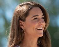 Kate Middleton visitó al hospicio The  Nook en una soleada mañana en Norfolk