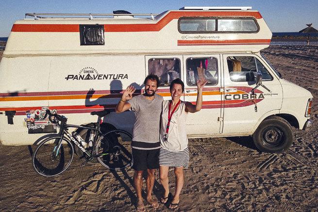 Atrapados en Chile dos españoles que iban de Ushuaia a Alaska en autocaravana