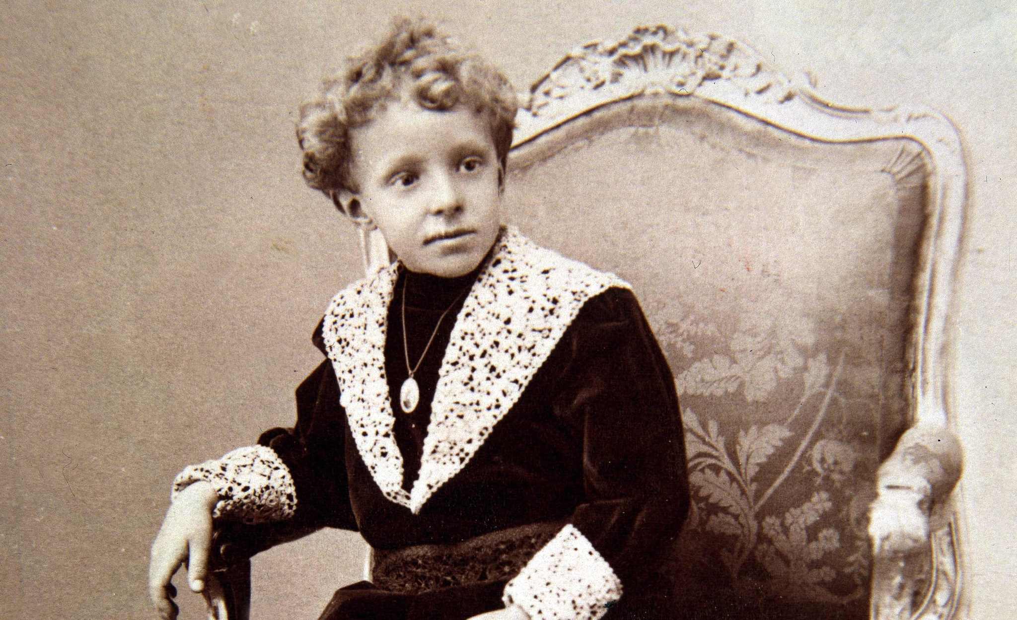 Alfonso XIII, en una imagen de niño.
