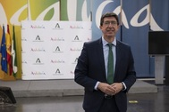 Juan Marín, vicepresidente y consejero de Turismo de Andalucía