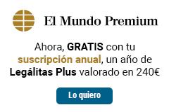 Con tu suscripción anual de Premium GRATIS 1 año de Legálitas Plus