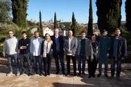 Diez secretarios generales autonómicos de Podemos, en 2019.