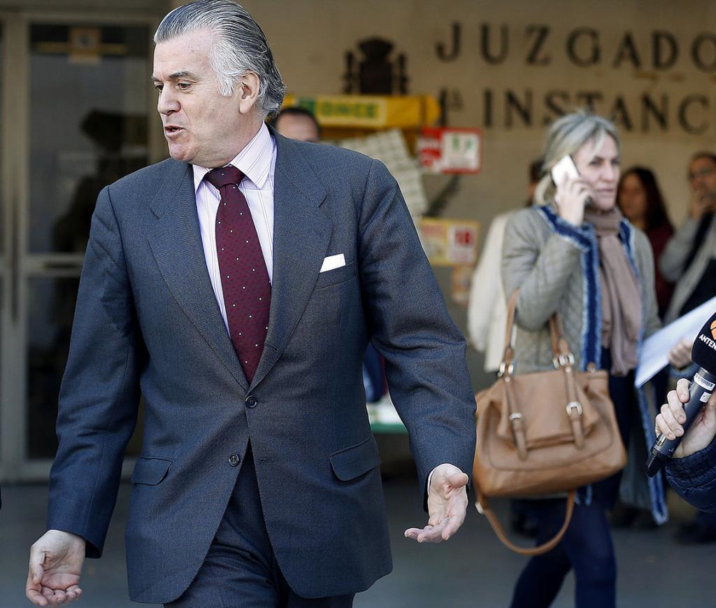 Luis Bárcenas, ex tesorero y ex senador del PP.