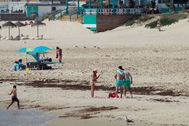 La playa de los Lances en Tarifa (Cádiz).
