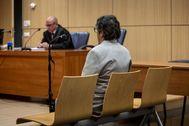El ex marido de Mónica Oltra, el día del juicio.